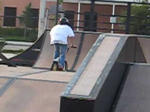 Brandon Cox at eagle skate park