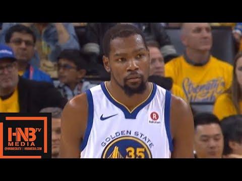Golden State Warriors vs San Antonio Spurs 1st Half Highlights / Game 5 / 2018 NBA Playoffs