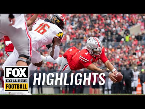 Watch all 10 of No.1 Ohio State's TDs vs. Maryland | HIGHLIGHTS | CFB ON FOX