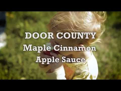 Savor Door County - Maple Cinnamon Apple Sauce