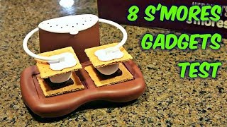 Video 8 S'mores Gadgets put to the Test MP3, 3GP, MP4, WEBM, AVI, FLV Maret 2018