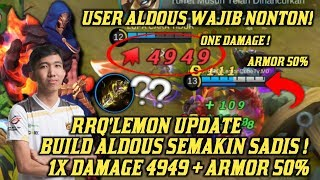 Nonton Rrq Lemon Kembali Update Build Aldous 4949 Damage Gila Sadis   Mobile Legend Film Subtitle Indonesia Streaming Movie Download