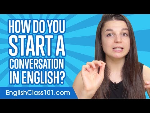 Don't Be Shy! How To Start A Conversation In English