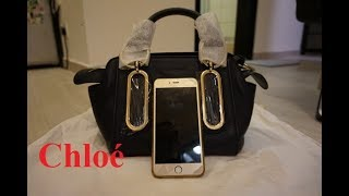 See by Chloe bag unboxing review with iPhone comparison