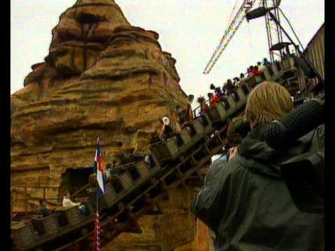 Michael Jackson rides the Michael Jackson Thrill Ride at Phantasialand