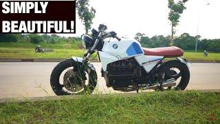 MotoVLog - BMW K1100 Custom Tracker