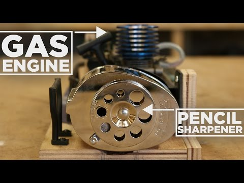 Nitro Engine Powered Pencil Sharpener