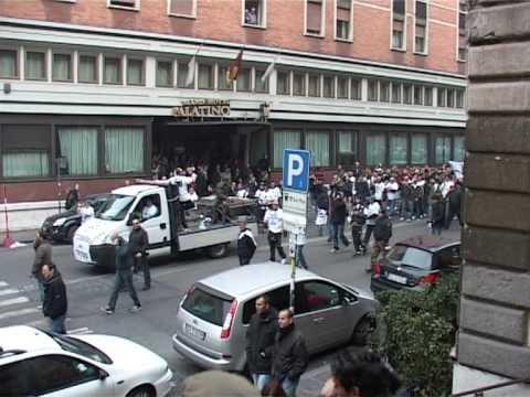 Manifestazione ultras contro la tessera del tifoso 2009