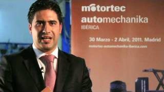 Presentation of Motortec Automechanika Ibérica 2011