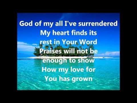 God Of My Forever With Lyrics (City Harvest Church)