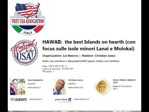 Video HAWAII:  the best Islands on hearth (con focus sulle isole minori Lanai e Molokai) (13-2-2018)