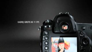 Atraskite Nikon D4 Nikon D4 pasižymi labai jautriu 16,2 milijono pikselių FX formato CMOS jutikliu, iki 11 kadrų per sekundę...