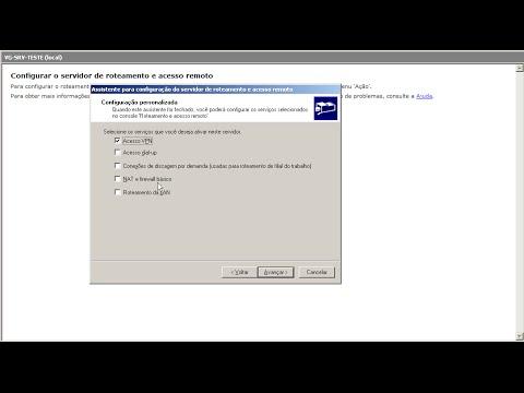 Servidor de Acesso remoto VPN no Windows Server 2003