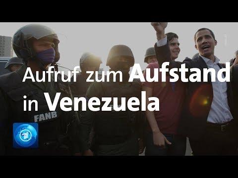 Venezuela: Oppositionsführer Guaidó ruft das Militär zu ...