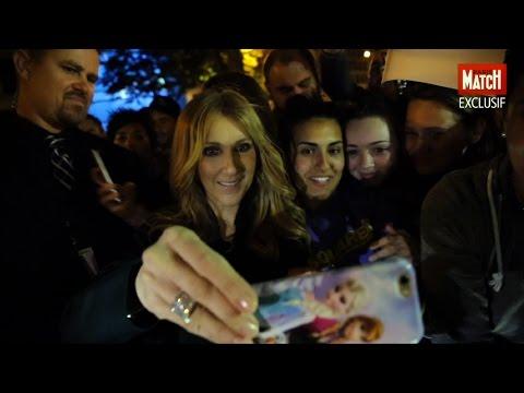 Exclusif. Le bain de foule de Céline Dion avec ses fans
