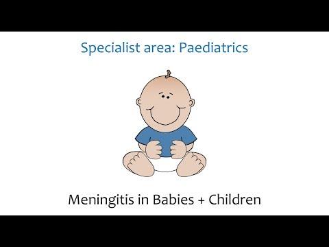 Paediatric's - Meningitis