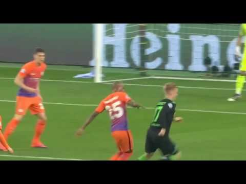 M'gladbach vs Manchester City 1-1 All Goals & Highlights Champions League 2016