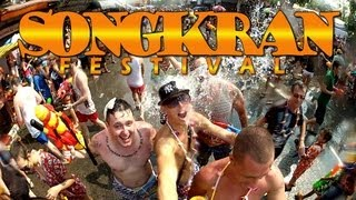 The Best Songkran Video - Chiang Mai Thailand 2013