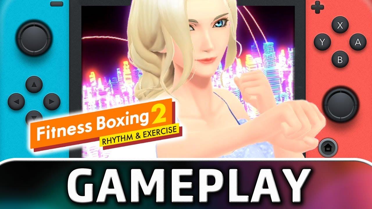 Fitness Boxing 2: Rhythm & Exercise   Nintendo Switch Gameplay