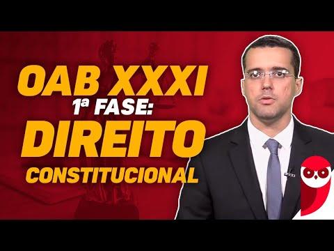 OAB XXXI - 1ª Fase: Direito Constitucional