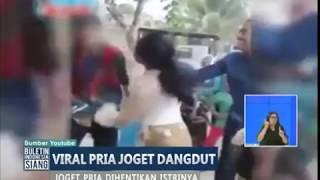 Video Viral! Asik Joget dengan Biduan, Seorang Pria Dihentikan Istrinya - BIS 13/09 MP3, 3GP, MP4, WEBM, AVI, FLV November 2017