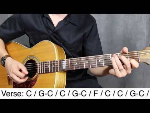 Down On The Corner CCR Guitar Lesson - Tutorial - How To Play
