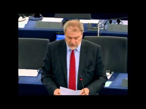 Παρέμβαση του Νότη Μαριά στην Ευρωβουλή ενάντια στην ΤTIP (Διατλαντική Εταιρική Σχέση Συναλλαγών και Επενδύσεων)
