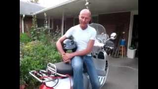 8. 1-Max and his Vespa- Gts 250 ie-2009
