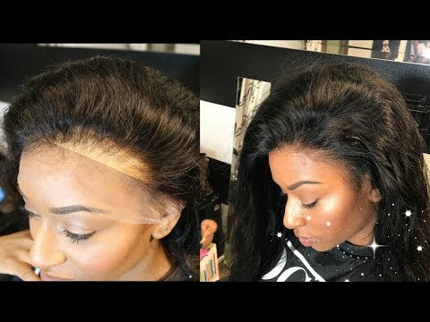 HOW TO BLEND YOUR LACE/ WIG CAP NO GLUE ::: LUVME HAIR