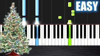 Wham! - Last Christmas - EASY Piano Tutorial
