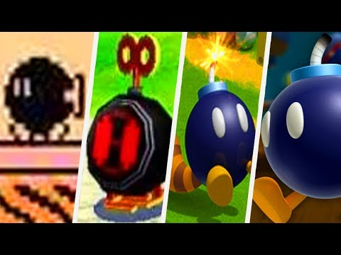 Evolution of Bob-omb in Super Mario Games (1988 - 2017)