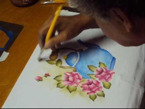 Pintura em tecido - artesanato