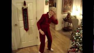Awesome 90-year-old Grandma Dances To LMFAO - Party Rock Anthem!