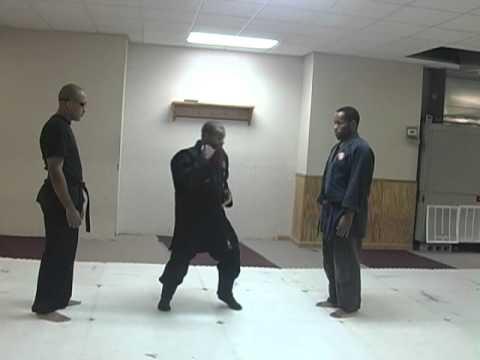Ninpo-Taijutsu Two Man Defense