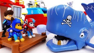 Video Scary Whale Is Attacking A Motorboat~! Go Go Paw Patrol, Rescue Mission With Jet Skis - ToyMart TV MP3, 3GP, MP4, WEBM, AVI, FLV Oktober 2018