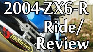 3. 2004 Kawasaki 636 Ride/Review