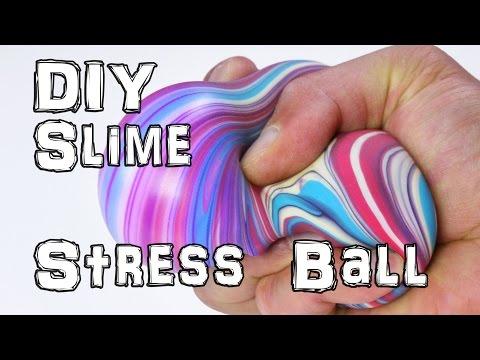 How to Make DIY Slime Stress Balls