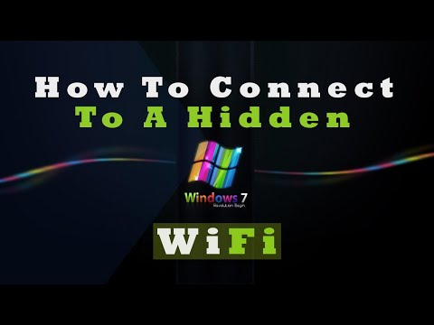 how to discover hidden wifi