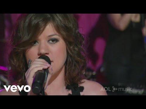 Kelly Clarkson - Walk Away (Sessions @ AOL 2007)