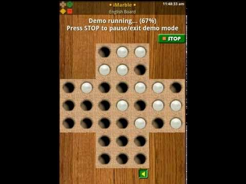 Video of Peg Solitaire: Marble Puzzles