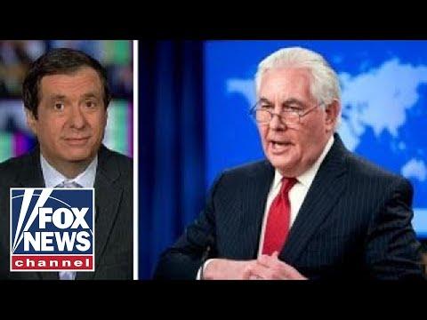 Kurtz: Why Rex Tillerson didn't go quietly