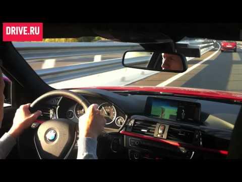 BMW 3-series 2012 BMW 3 Series (F30) — За кадром