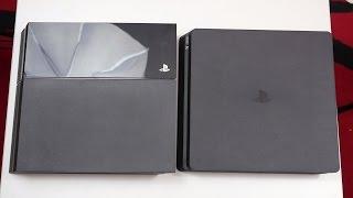 PS4 Slim vs Standard PS4 - Review & Comparison