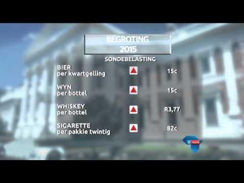 Begroting 2015: Belasting, heffings verhoog / Budget 2015: Tax, levies hiked