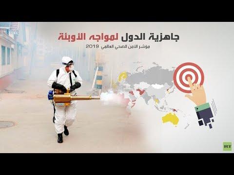 ترتيب الدول العربية في مواجهة انتشار الأوبئة