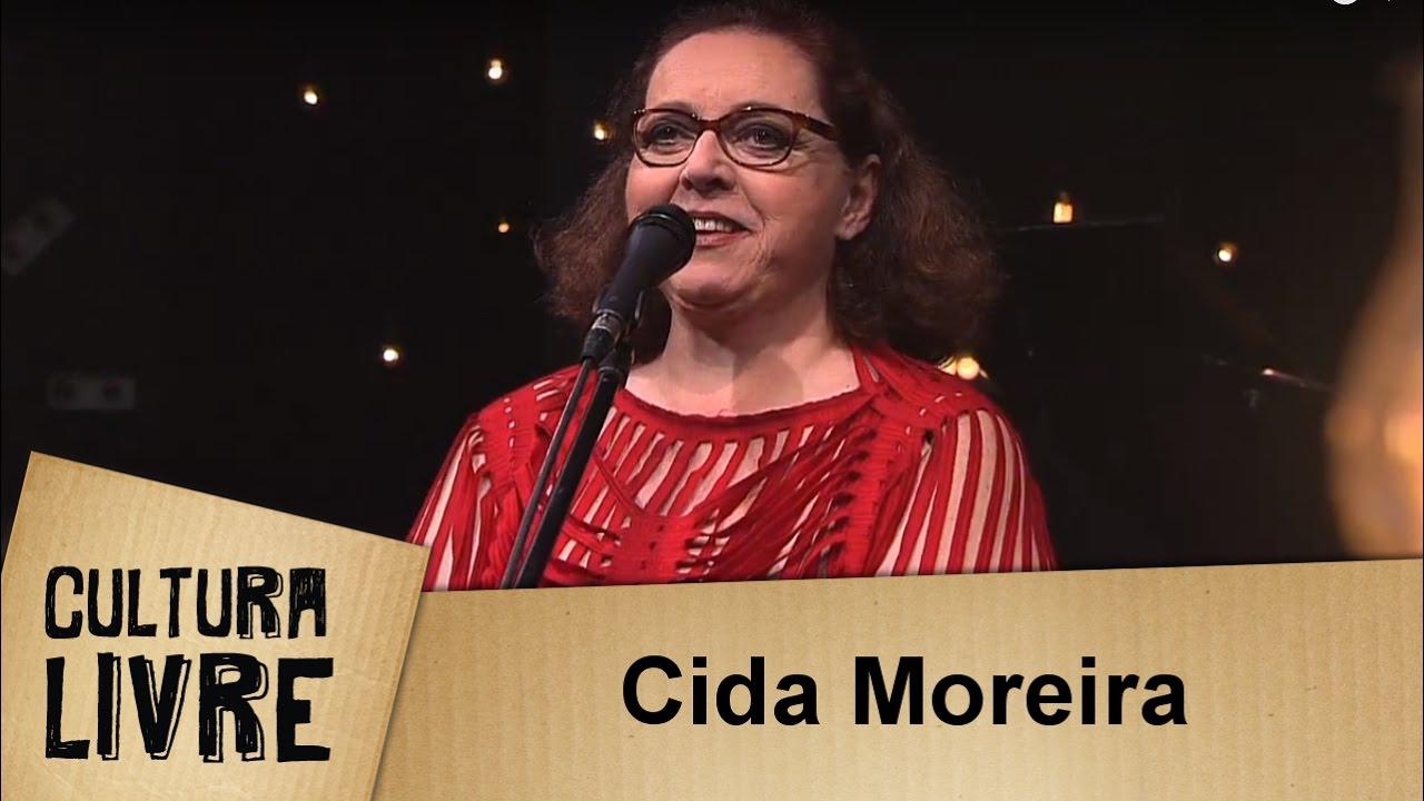 Cida Moreira no Cultura Livre