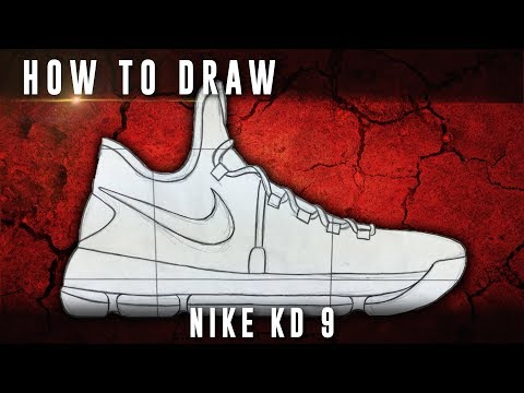 How To Draw: Nike KD 9
