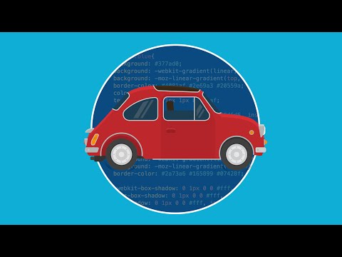 Learn to Design an Animated Car using HTML and CSS3 - Intro