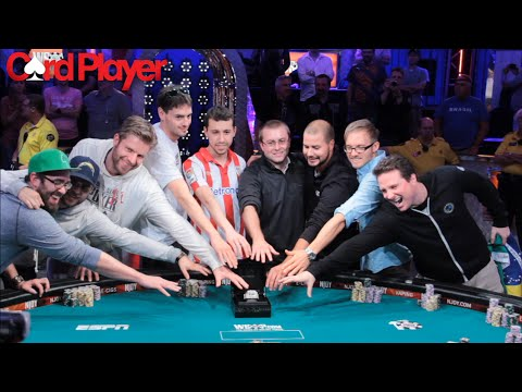world of poker - A total of 6683 players posted the $10000 dollar buy-in in the 2014 WSOP main event hoping to become the latest world champion and walk away with a guarant...