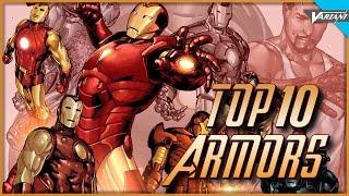 Video Top 10 Iron Man Armors! MP3, 3GP, MP4, WEBM, AVI, FLV September 2018